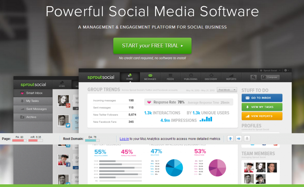 Social Media Management Software for Business   Sprout Social