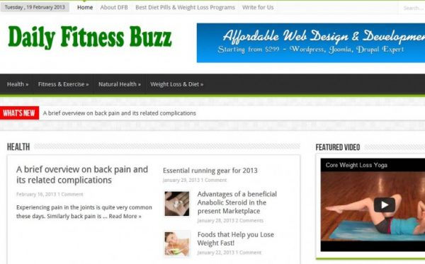 Daily Fitness Buzz